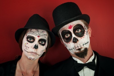 Day of the Dead Makeup Ideas for Men