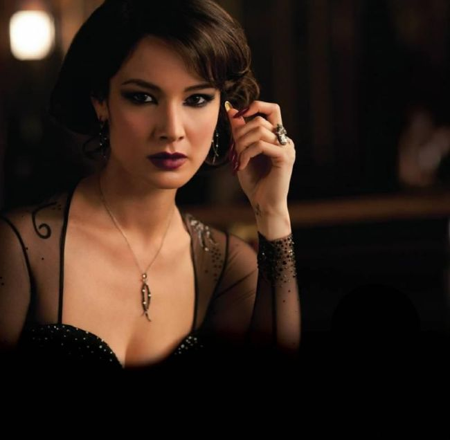Berenice Marlohe Skyfall Photo 02 Skyfall Bond Girl Makeup   Bérénice Marlohe not tested on animals Makeup cruelty free beauty