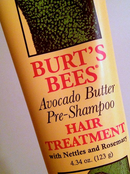 Burt's Bees Avocado Hair Treatment