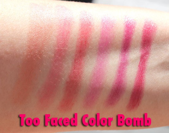 Too Faced Color Bomb!