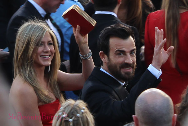 Jennifer Aniston and Justin Theroux Oscars 2013
