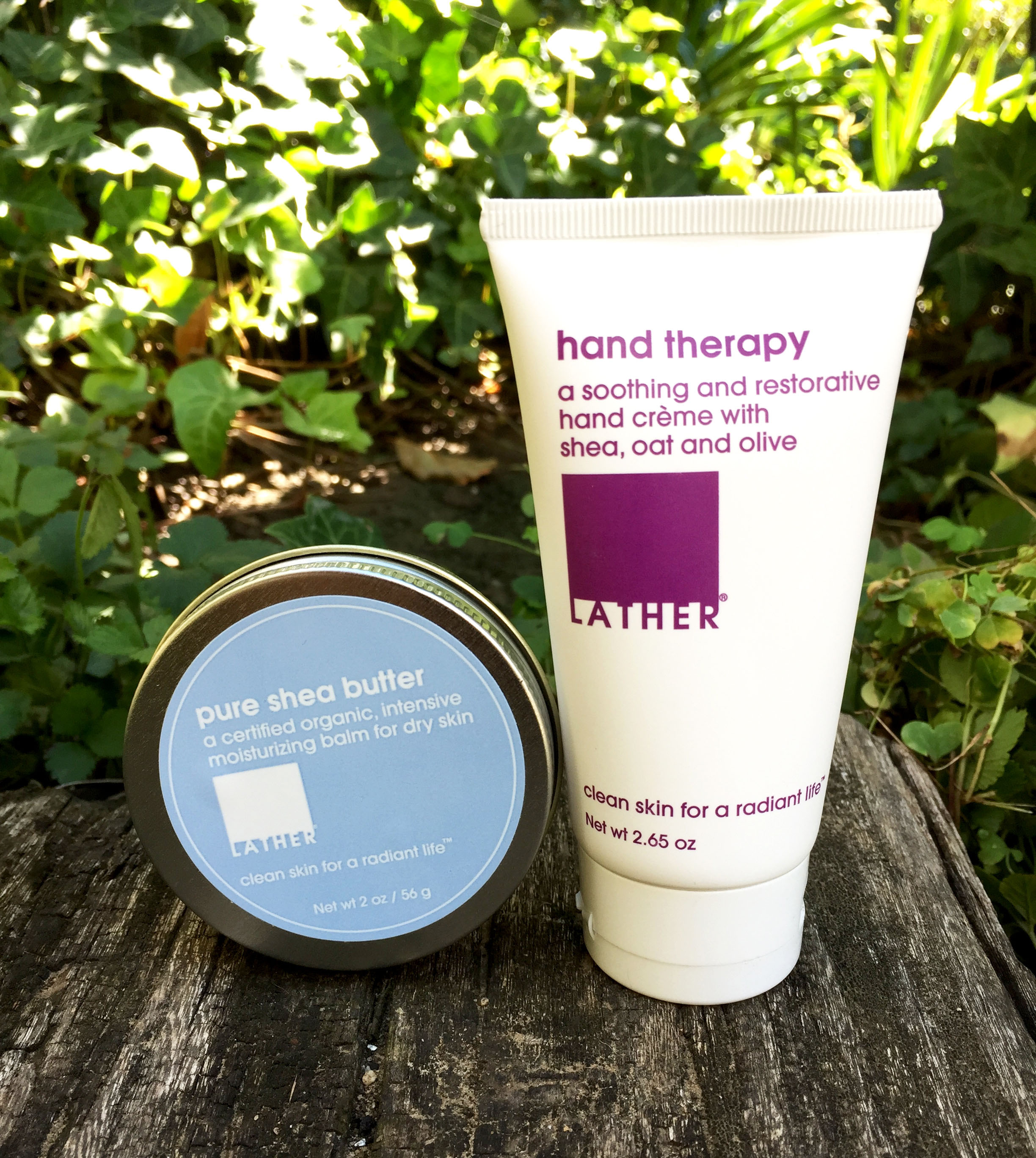 Lather shea butter & hand therapy