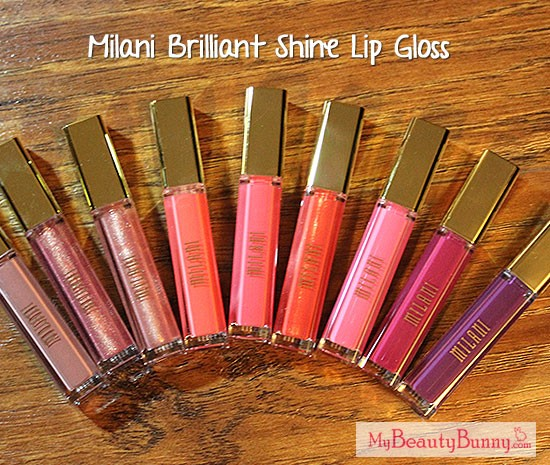 Milani Brilliant Shine Lip Gloss