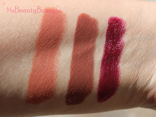 NARS Satin Lip Pencil Swatches