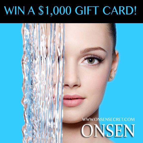 Onsen Secret Giveaway