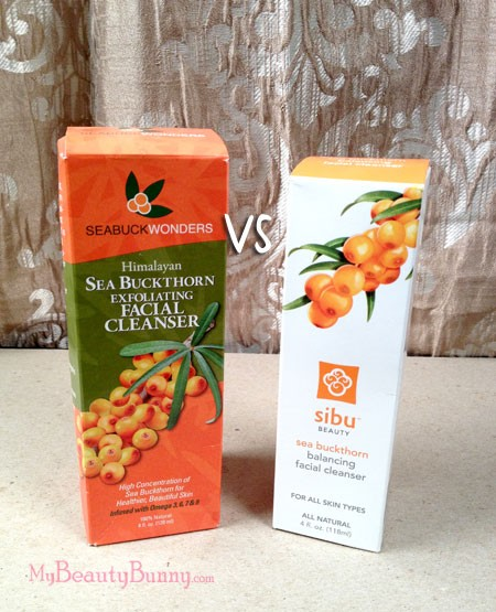 sea buckthorn facial cleanser review