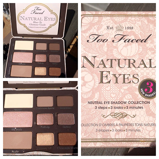 Too Faced Natural Eyes Palette Giveaway