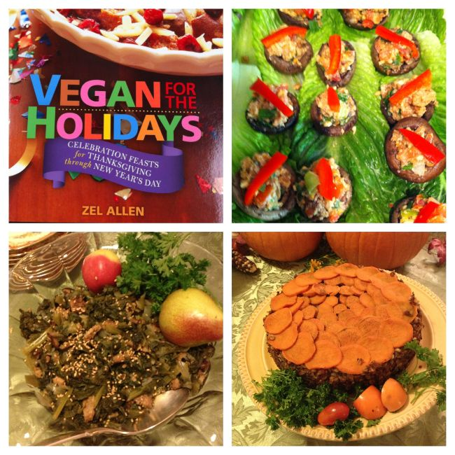 Vegan for the Holidays vegan recipes