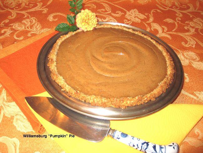 Wiliamsburg Vegan Pumpkin Pie