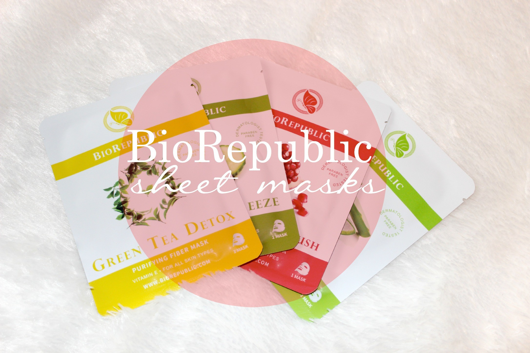 biorepublic sheet mask tutorial and review