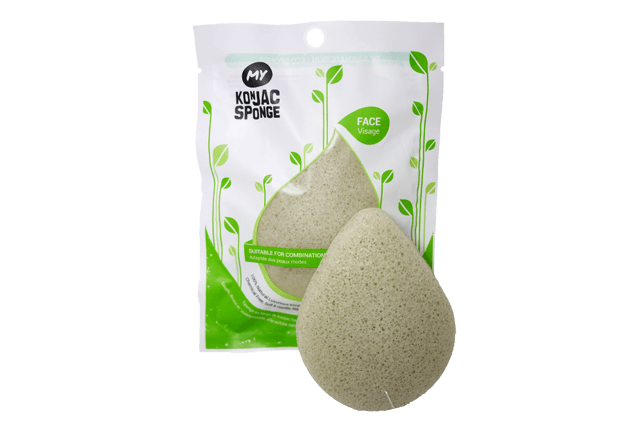 My Konjac Sponge green clay