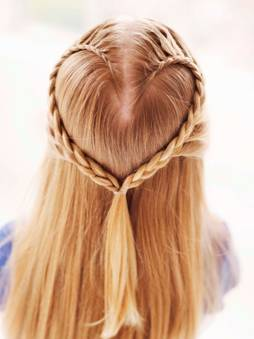 heart braid DIY: Heart Shaped Braid for Valentines Day cruelty free hair cruelty free beauty