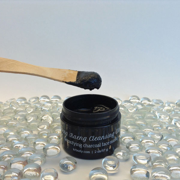 kaeng raeng charcoal facial mask my beauty bunny