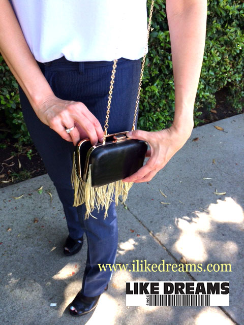 Like Dreams Vivian Vegan Clutch