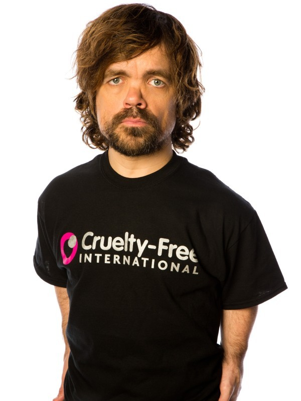 Peter Dinklage from Game of Thrones Says No More Animal Testing!
