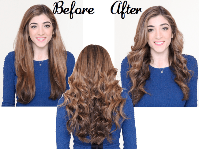 How to Get Beachy Waves Hair Tutorial