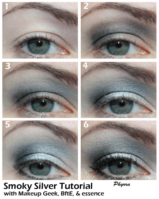 Taylor Swift Silver Smoky Eye Tutorial
