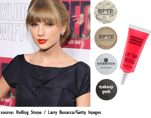 Taylor Swift Silver Smoky Eye Look