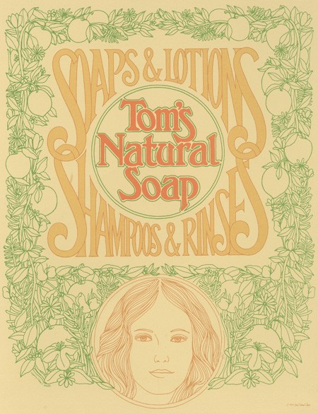 Tom's of Maine soap 1972