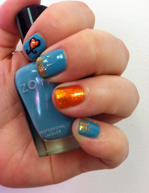 we heart this nail art